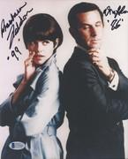 SELL-Don Adams & Barbara Feldon Get Smart Signed 8x10 BAS C71645 $99 DLVD US