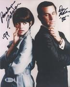 SELL-Don Adams & Barbara Feldon Get Smart Signed 8x10 BAS C71644 $99 DLVD US