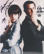 SELL-Don Adams & Barbara Feldon Get Smart Signed 8x10 BAS C71633 $99 DLVD US
