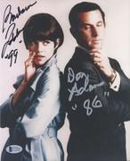 SELL-Don Adams in Silver & Barbara Feldon Get Smart Signed 8x10 from Oct. 2003 Signing BAS C71619 $119 DLVD US