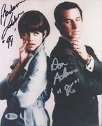 SELL-Don Adams in Silver & Barbara Feldon Get Smart Signed 8x10 from Oct. 2003 Signing BAS C71618 $119 DLVD US