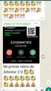 Pruebas de pagos en bitcoin por arbistar
