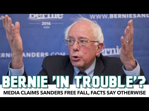 Corporate Media conspires against Senator Bernie Sanders