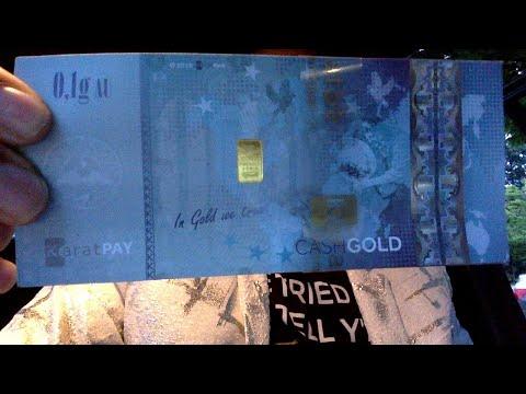 #Karatbars - 100 KBC coin = 1gram of gold GID
