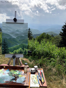 Caney Fork Overlook Plein Air SM
