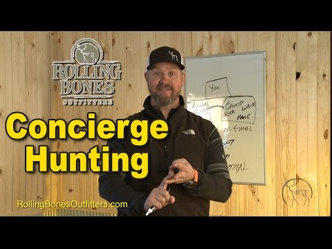 Concierge Hunting Service - Rolling Bones Outfitters
