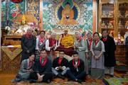 HH the Dalai Lama on his 84th birthday