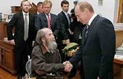 Alexander Solzhenitsyn en el 2007