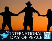 International Day of Peace - Sep 21st