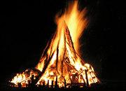 Middle East fireside