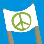 Organise an international Pro Peace, non violent, demonstration
