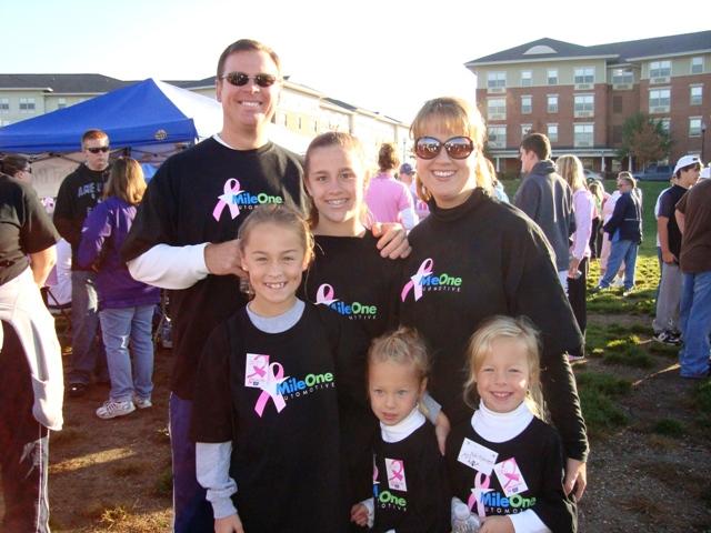Metter Family at ACS Walk