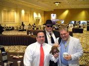 Gilbert Chavez, Joe Webb and Kim Clouse at DD6