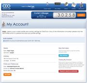 ODOClub My Account
