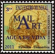 "Mail Art "" Nuestro Planeta"" Colombia"
