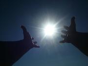солнце в рукках