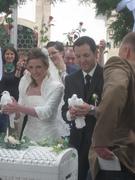 мой Сын и невестка после венчания....