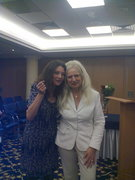 With Peggy Phoenix Dubro
