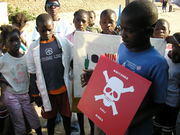 Ban Landmines and Cluster Munitions