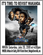 Re-Visiting Wakanda - The Black Panther