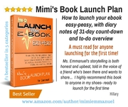 Mimi's Book Launch Plan