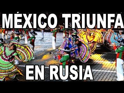MEXICO EN LA PLAZA ROJA DE MOSCÚ!!...