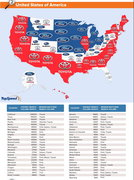 Americas Most Searched Car Brands by State