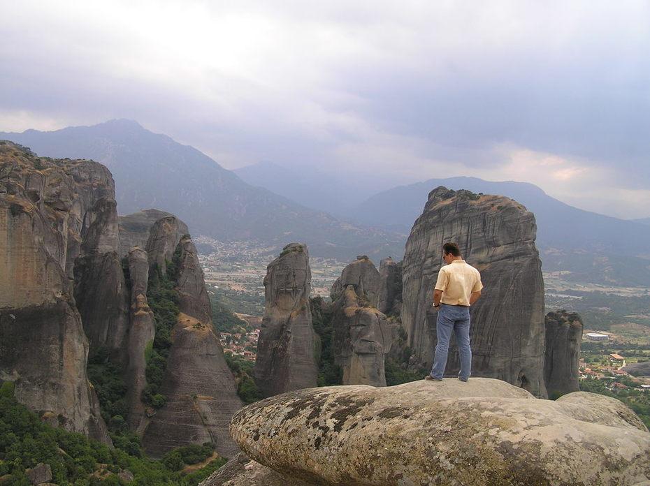 Метеоры - скалы, парящие в облаках