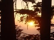 Закат в Сан Франциско