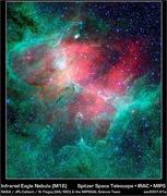 КОСМОС: Большая эмиссионная туманность Орла M16