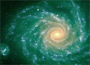 КОСМОС: спиральная галактика NGC 1232