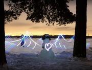 Snow Angel of Love