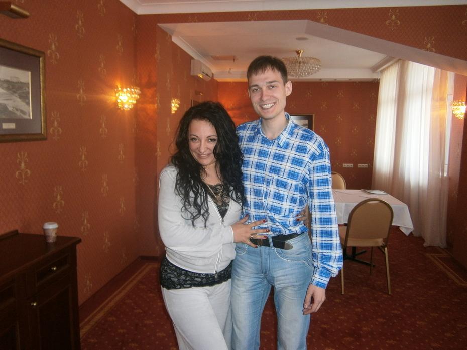 С Фатимой Хадуевой