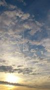 г.Прага - корона и крест на небе