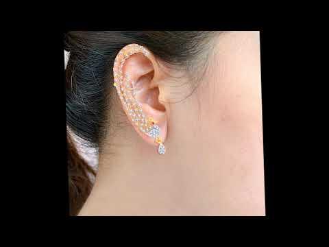 Beautiful Ear Cuff Earrings Designs for Women