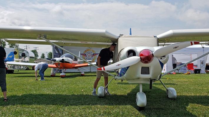 EAA Oshkosh AirVenture 2019 - Zenith Aircraft Builders and