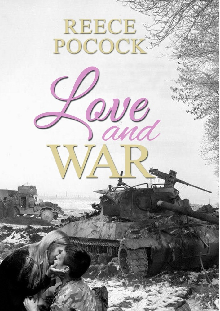 Cover Love and War Paper back