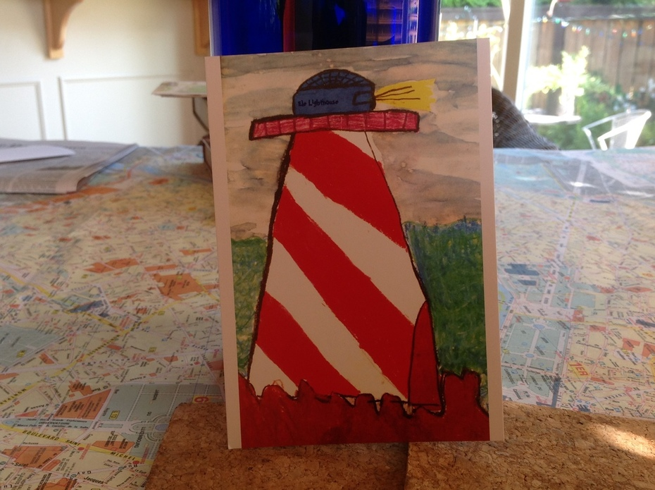 "Penny Reinecke's ""Ele Lighthouse"""