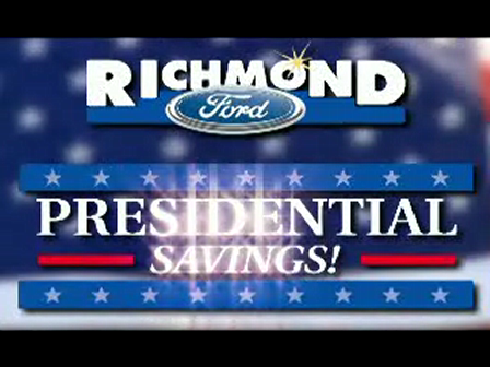 Presidents Day Sale at Richmond Ford in Richmond, VA TV and Web Video