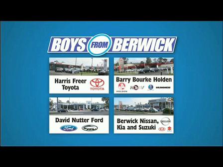 Boys from Berwick 2 Day Sale