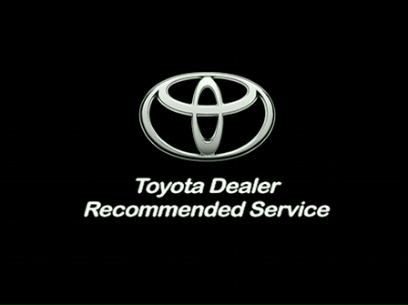 Toyota Service Intervals - 15,000 miles
