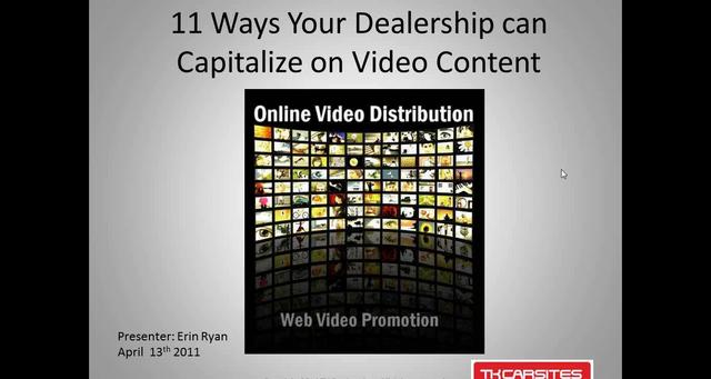 11 Ways Your Dealership Can Capitalize on Video Content