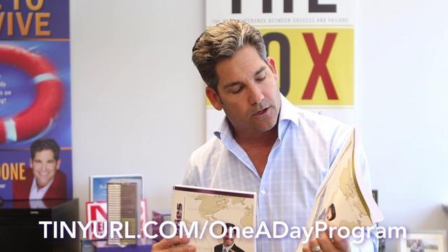 Grant Cardone's One-A-Day DVD Program