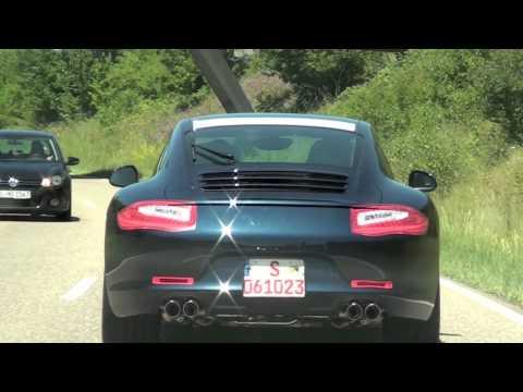 2012 Porsche 911 Carrera Spy Video - Zuffenhausen