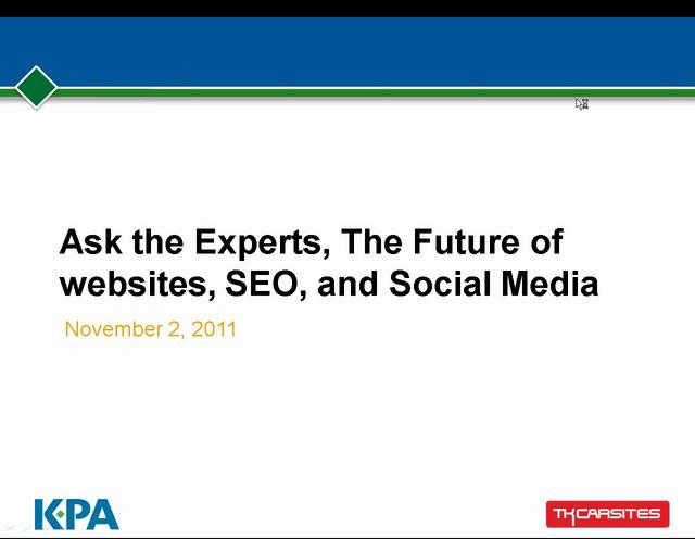 The Future of TK Carsites, KPA, and Automotive Internet Marketing