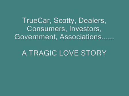 TrueCar & Painter, A Tragic Love Story