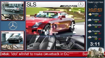 Digital Marketing on Screens for Car Dealerships