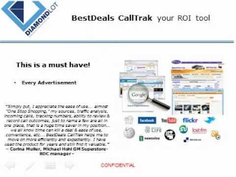 BestDealsCallTrak  Nothing Else Compares Diamondlot Consulting
