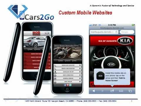 Mobile Websites, Text Marketing and Text Chat! Everything Mobile! Exclusively for Car Dealers