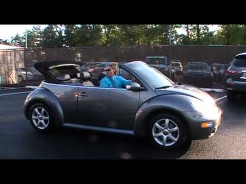 Used Beetle NJ | Ken Beam shows 2004 Beetle Convertible at Douglas Volkswagen in Summit NJ